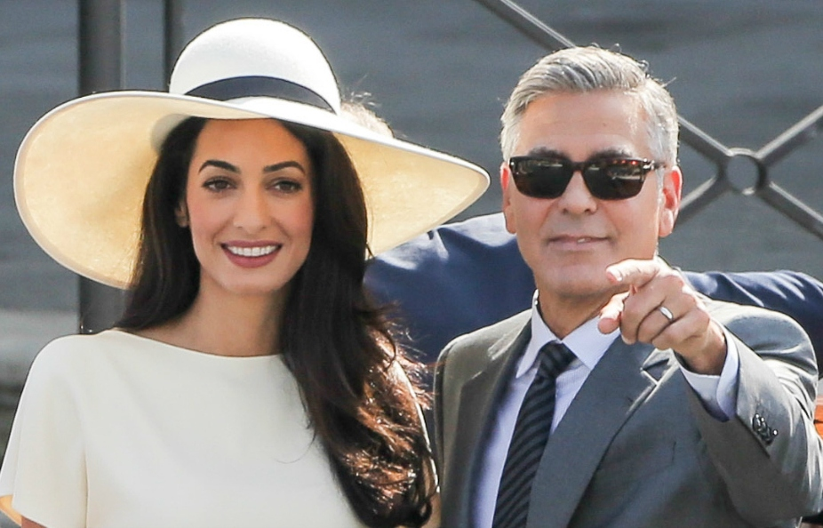 George and Amal Cloonycropped