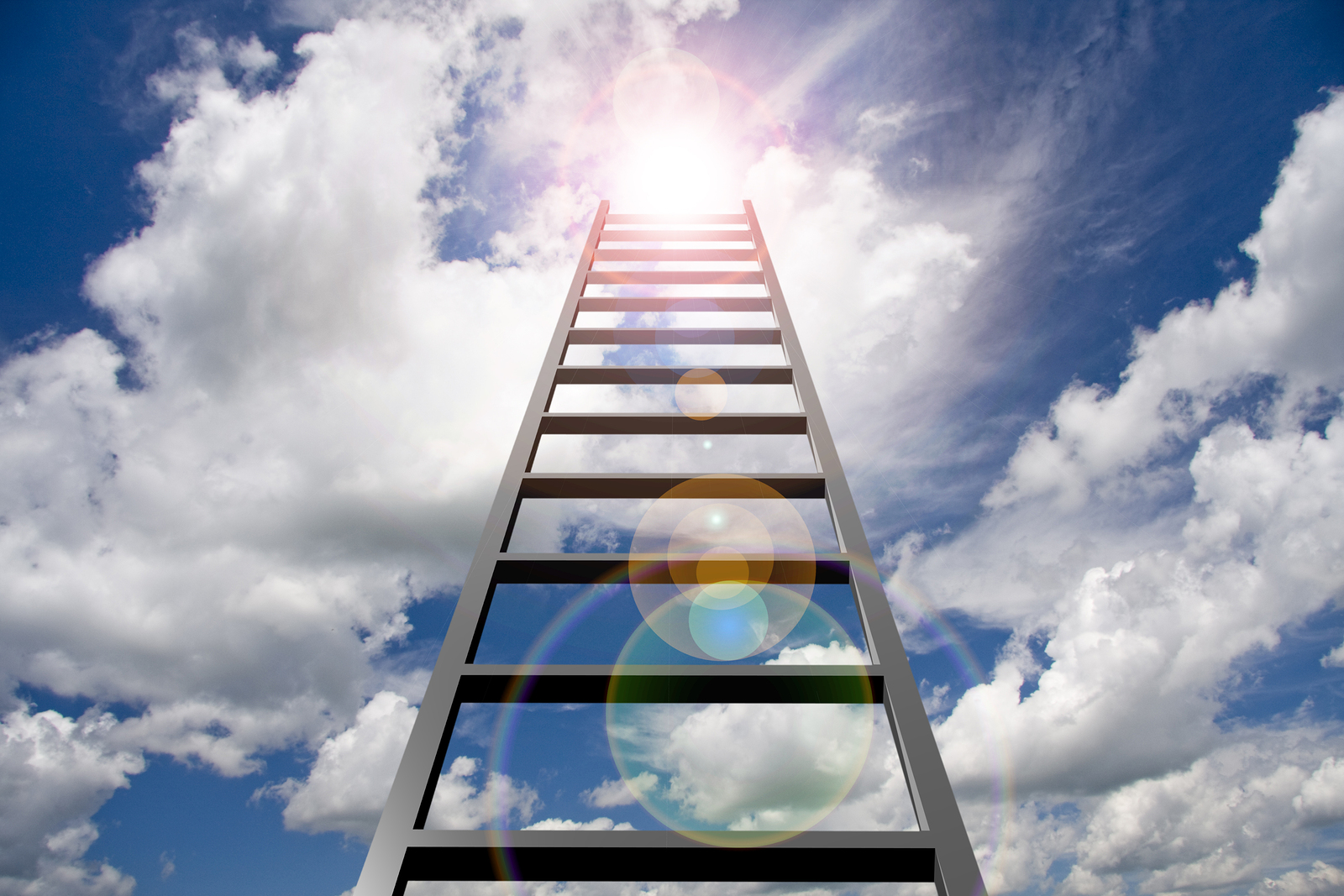 Ladder into sky