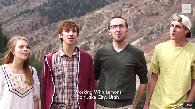 bagley family meet the mormons cover