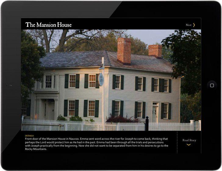 Joseph and Emma Smith Mansion House Nauvoo