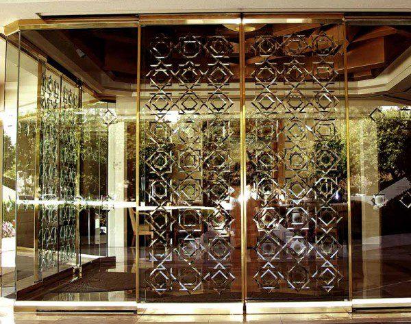 San Diego entrance doors.