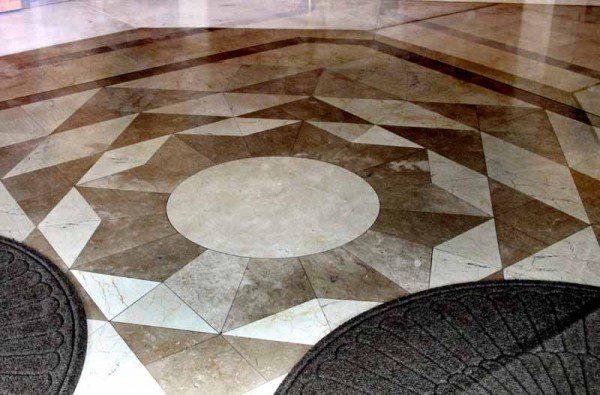 San Diego entrance floor.