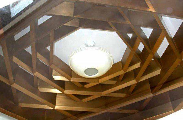 San Diego entrance ceiling.