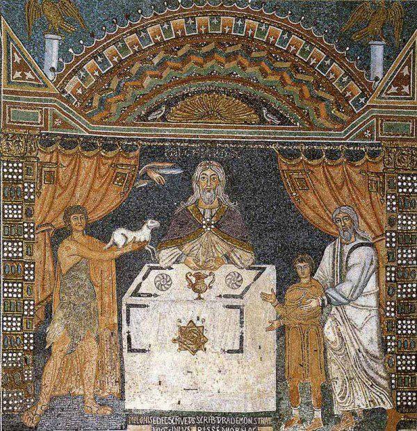 Ravenna, Italy mosaic.