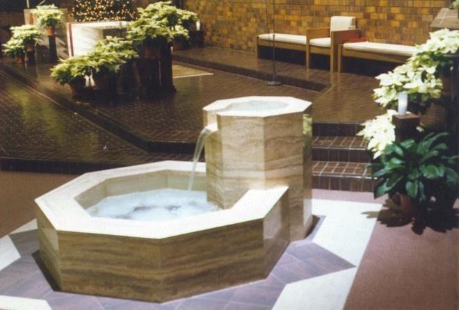 Baptismal Font of St. Joseph's in Missouri