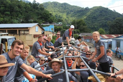 FHe volunteers of all ages travel to a remote Guatemalan village to give humanitarian service.