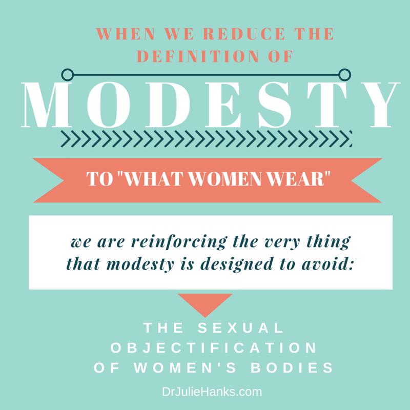 When we reduce modesty to _what females wear_-1