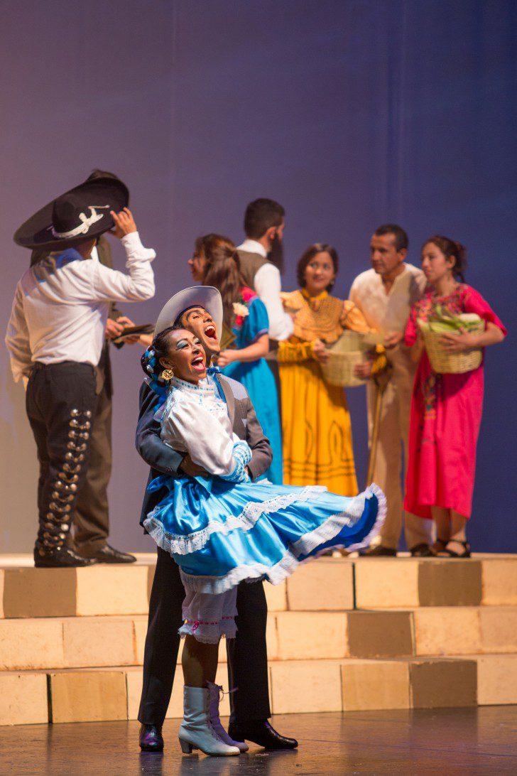 Presentación Cultural de la Re-dedicación del Templo de la Ciudad de México