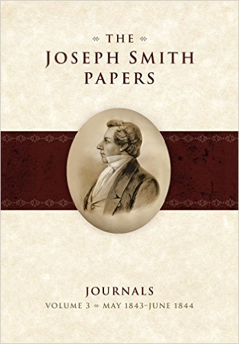 joseph smith papers journals