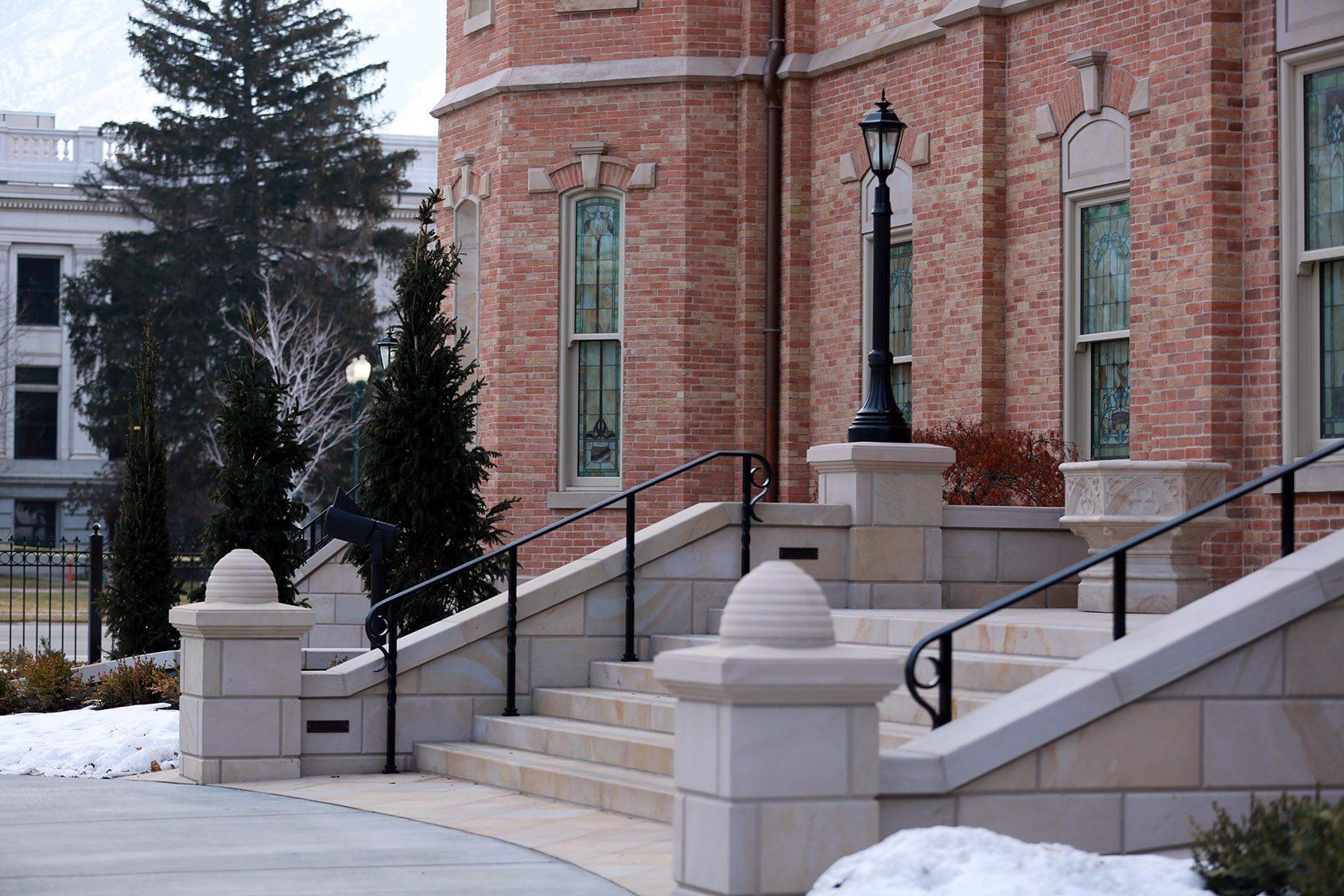 Provo City Center Temple Exterior Photograph by Scot Facer Proctor