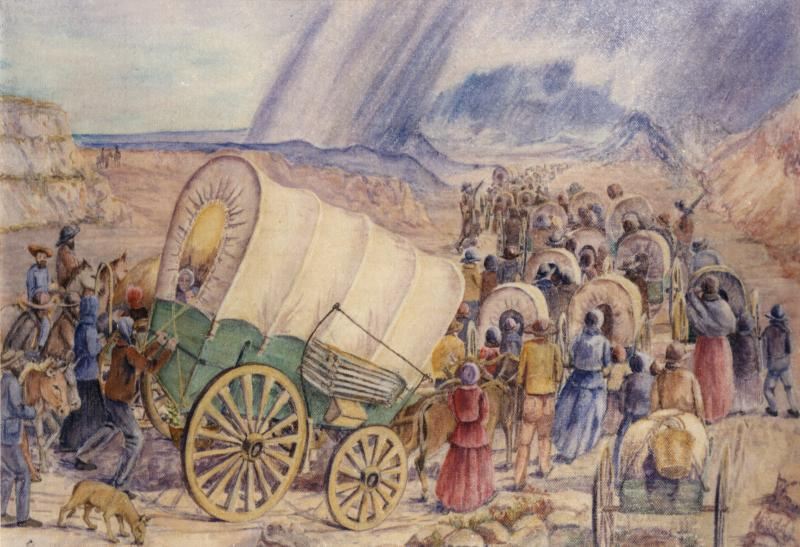 The Amazing Blind Pioneer who Walked Across the Plains ...
