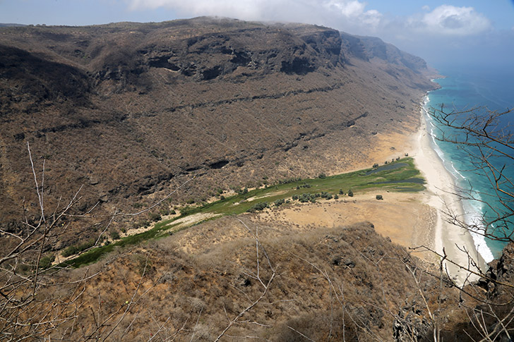 Nephi's Bountiful View from far above the Wadi