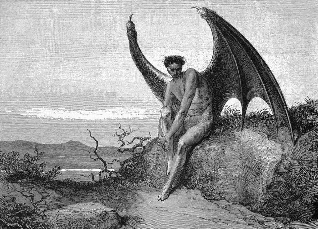 "the depiction of the fall of a man in john miltons paradise lost The long history of the thought and the phrase is traced in an article by arthur o lovejoy, ""milton and the paradox of the fortunate fall"" (elh 43, september 1937) it is referenced in scott elledge's marvelous edition of paradise lost."