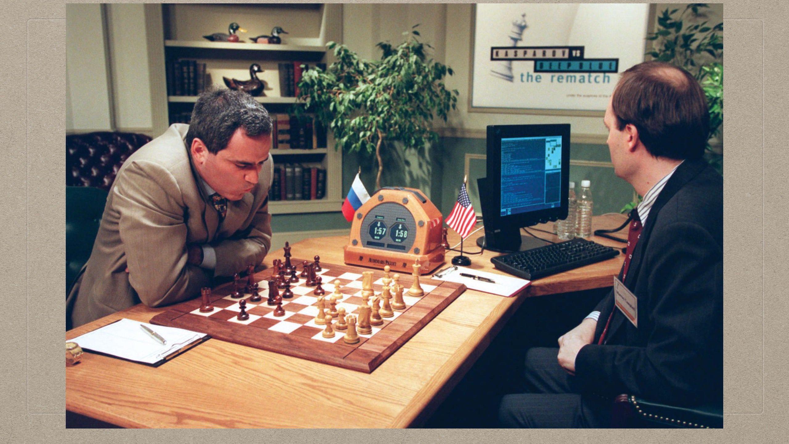 03-05-Kasparov Playing Deep Blue