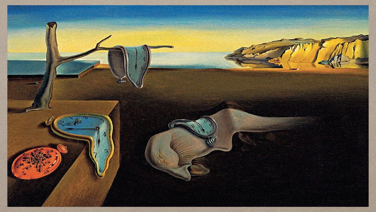 05-08-Dali-The Persistence of Memory