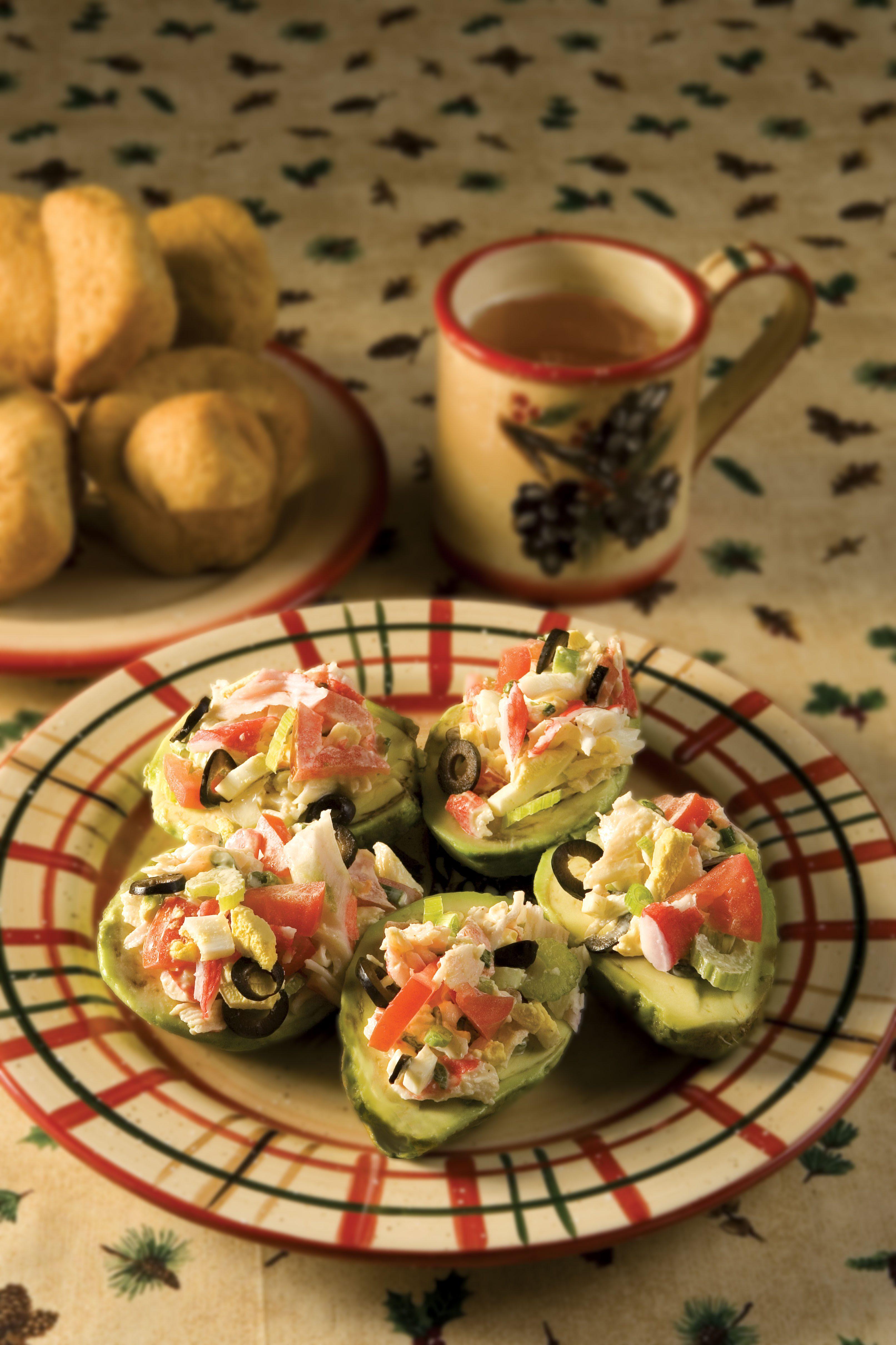 Five-Way Crab Salad