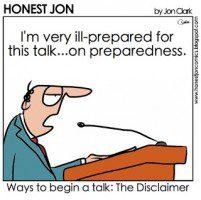 Cartoon Disclaimer