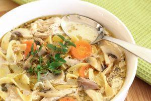 38452210 - chicken noodle soup