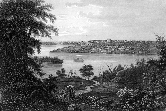 Nauvoo in 1850s-trim
