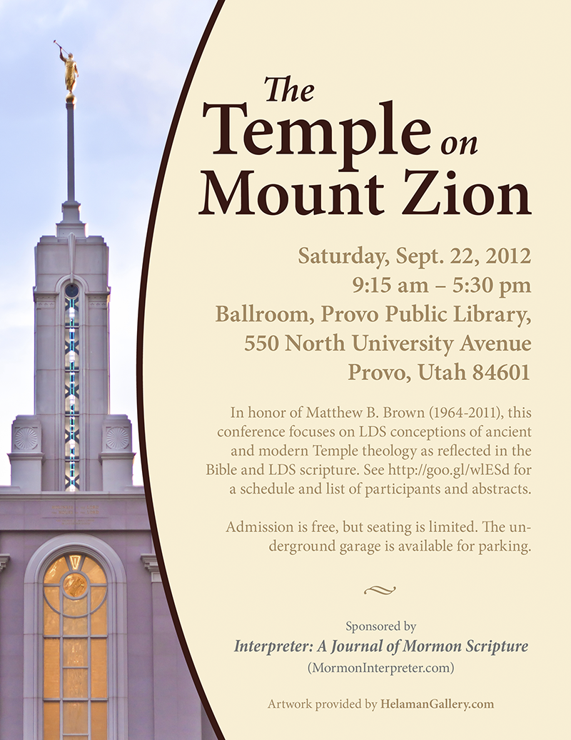Temple on Mount Zion