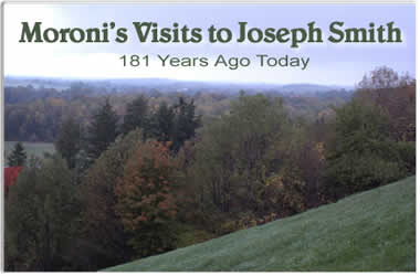Moroni's Visits to Joseph Smith