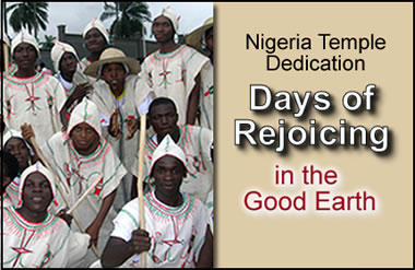 Days of Rejoicing in the Good Earth