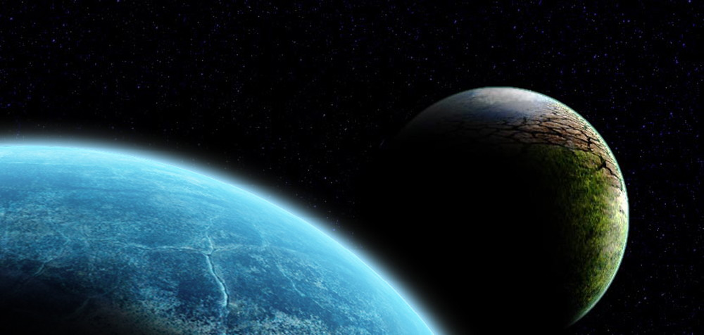Artist's conception of the rogue planet Niburu, or Planet X, said to be on a near collision course to affect the earth.