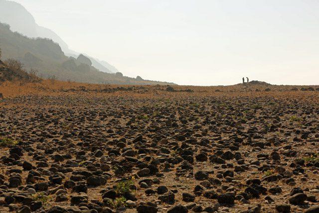 Archaeological Remains at Khor Kharfot.