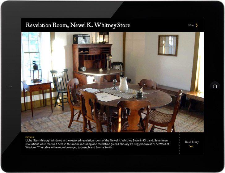 Newel K. Whitney Store Revelation Room