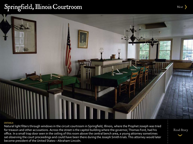 Abraham Lincoln Courtroom and Office