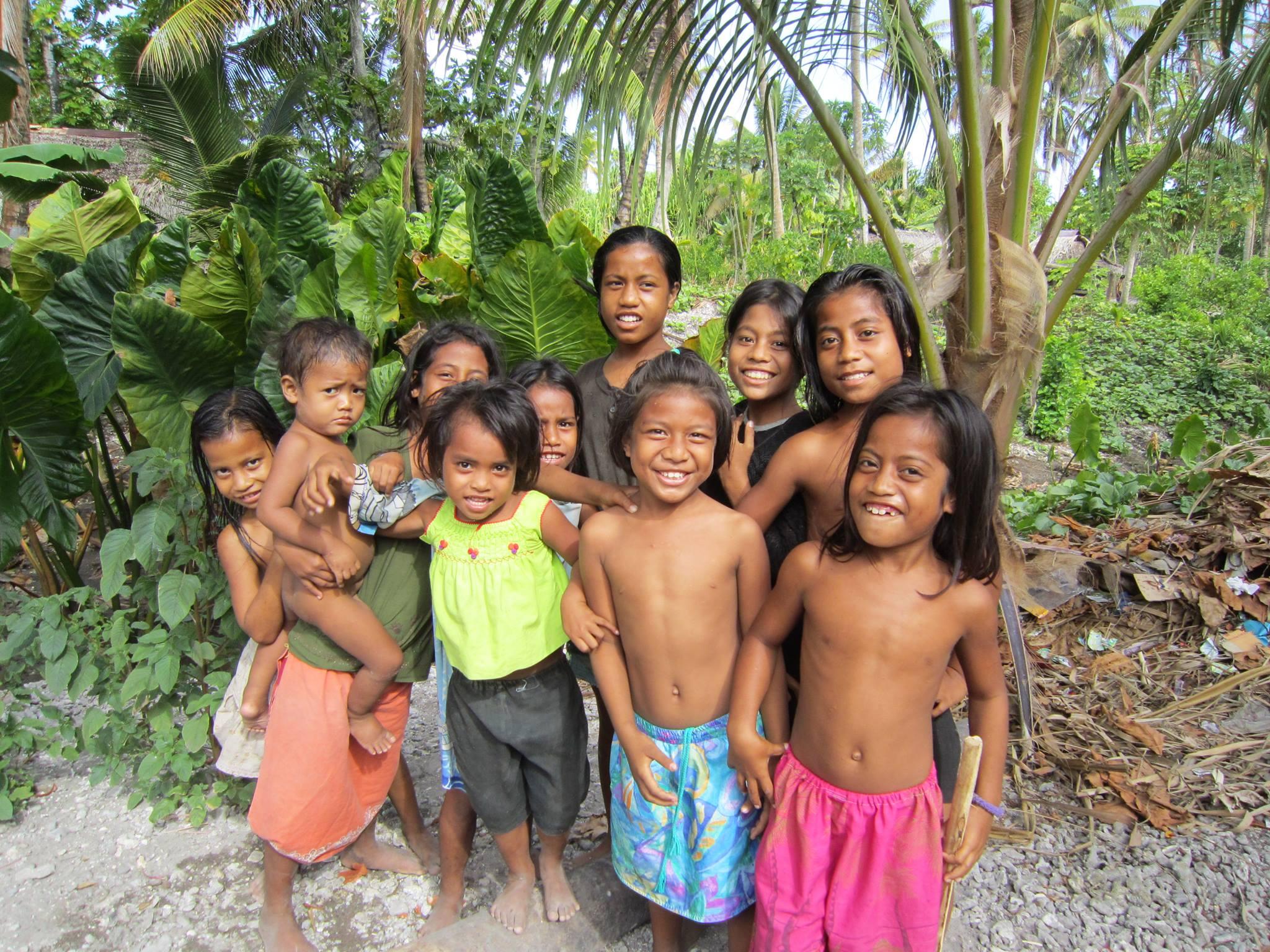 Kiribati Happy Children - Copy