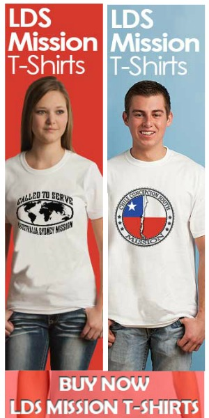 LDS Mission Tshirts Tower 300x600
