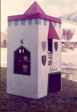 Picture #14 - cardboard castle