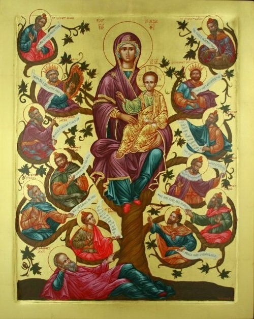 """The Tree of Jesse,"" Saint Elias Orthodox Church"