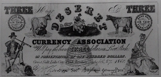 Picture #3 - Utah Cattle backed currency