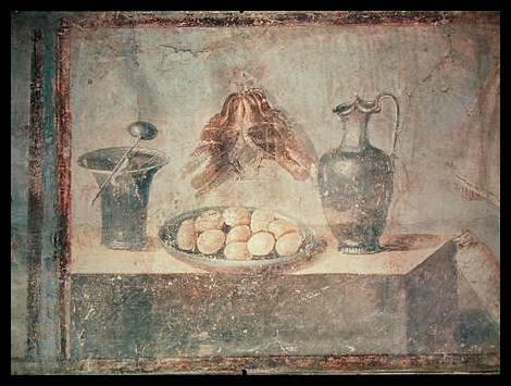 Picture #7 - Eating eggs in ancient china