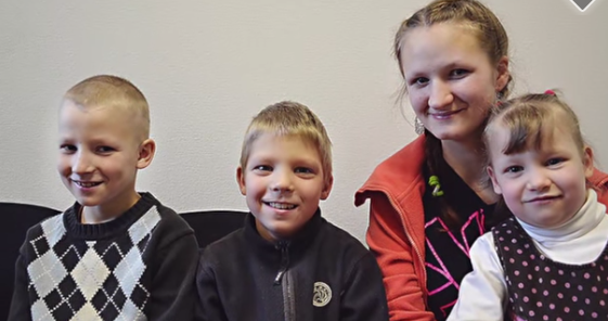 Acting On A Prompting Lds Family Adopts Five Latvian