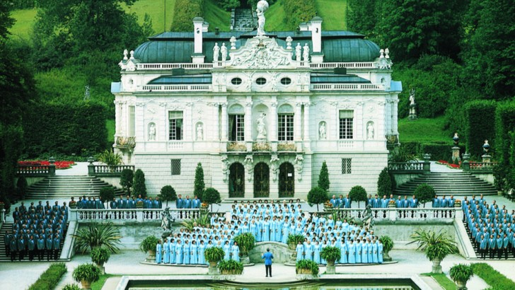 The Mormon Tabernacle Choir first performed in Bavaria, Germany in 1973.