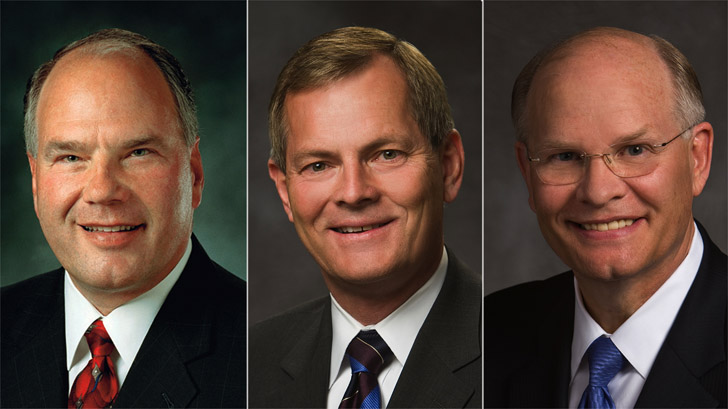 Ronald A. Rasband, Gary E. Stevenson, Dale G. Renlund