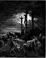 crucifixion darkness
