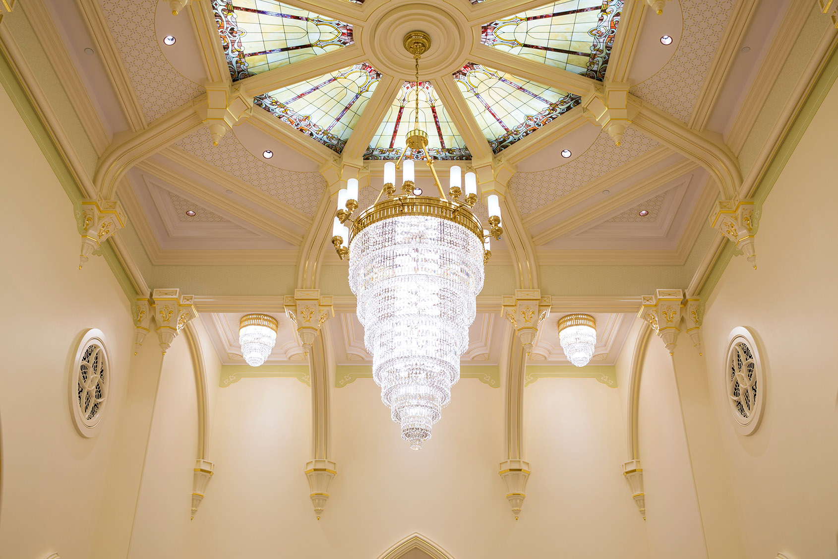 Provo City Center Temple Interior Photograph from Intellectual Reserve.