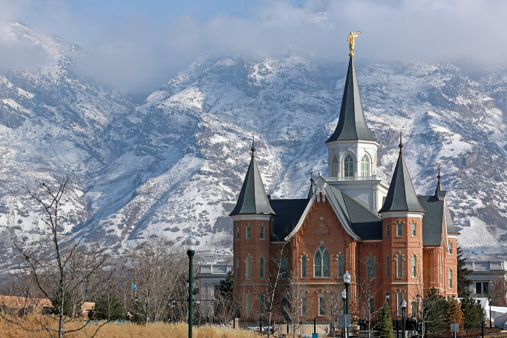 Provo City Center Temple Exterior Photograph by Scot Facer Proctor