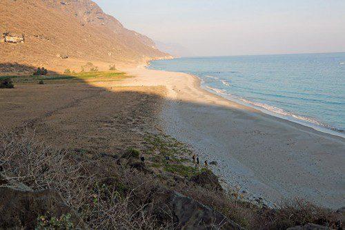 Khor Khorfot Wadi Sayq
