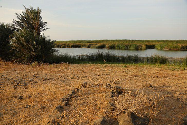 Nephi's Bountiful with fresh-water lagoon