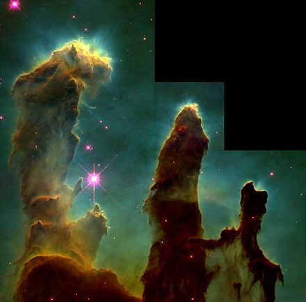 Picture #3 - Eagle_nebula_pillars