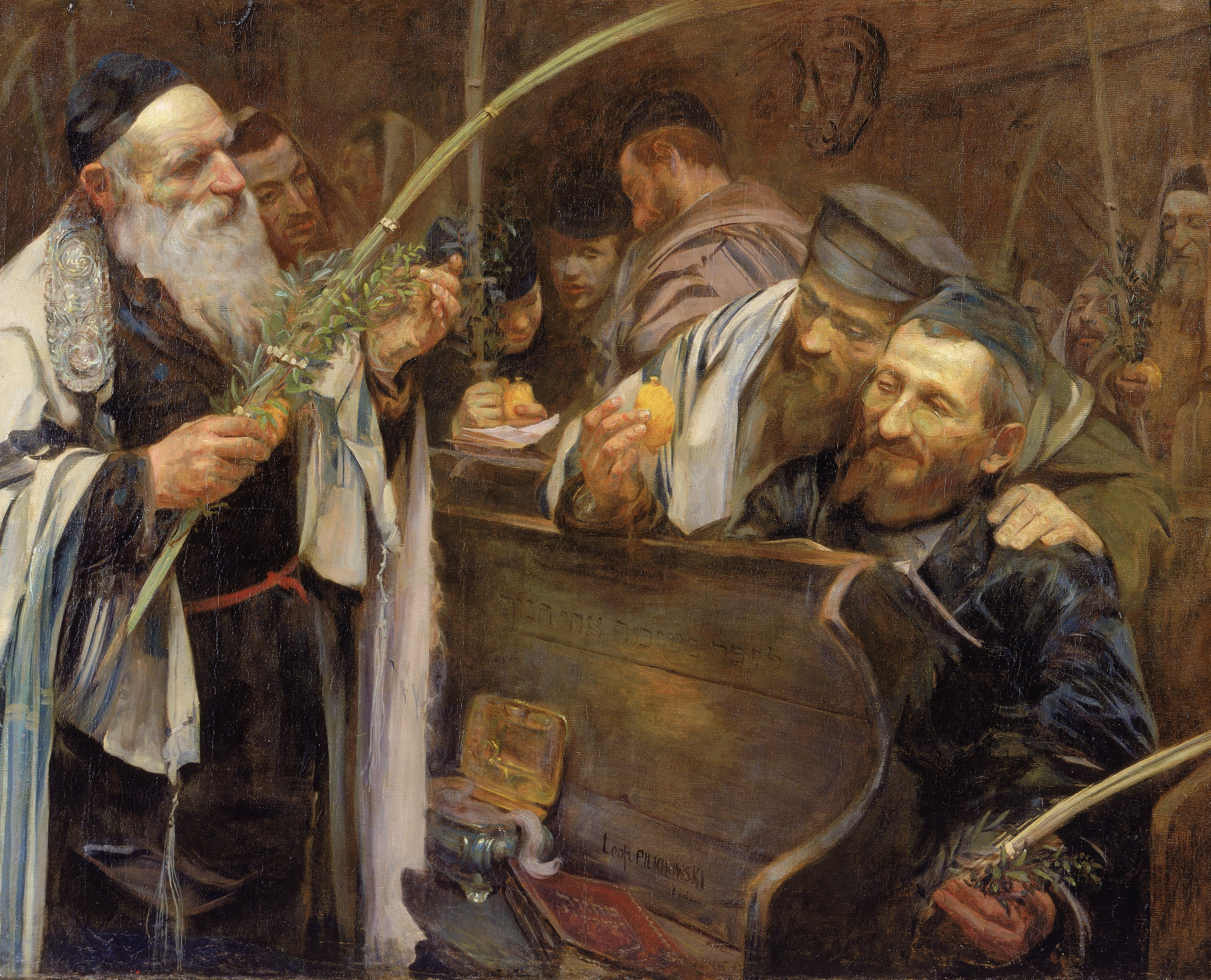 JM 89-55, Sukkot , Artist: Pilchowski, Photographer: John Parnell, Photo © The Jewish Museum, New York