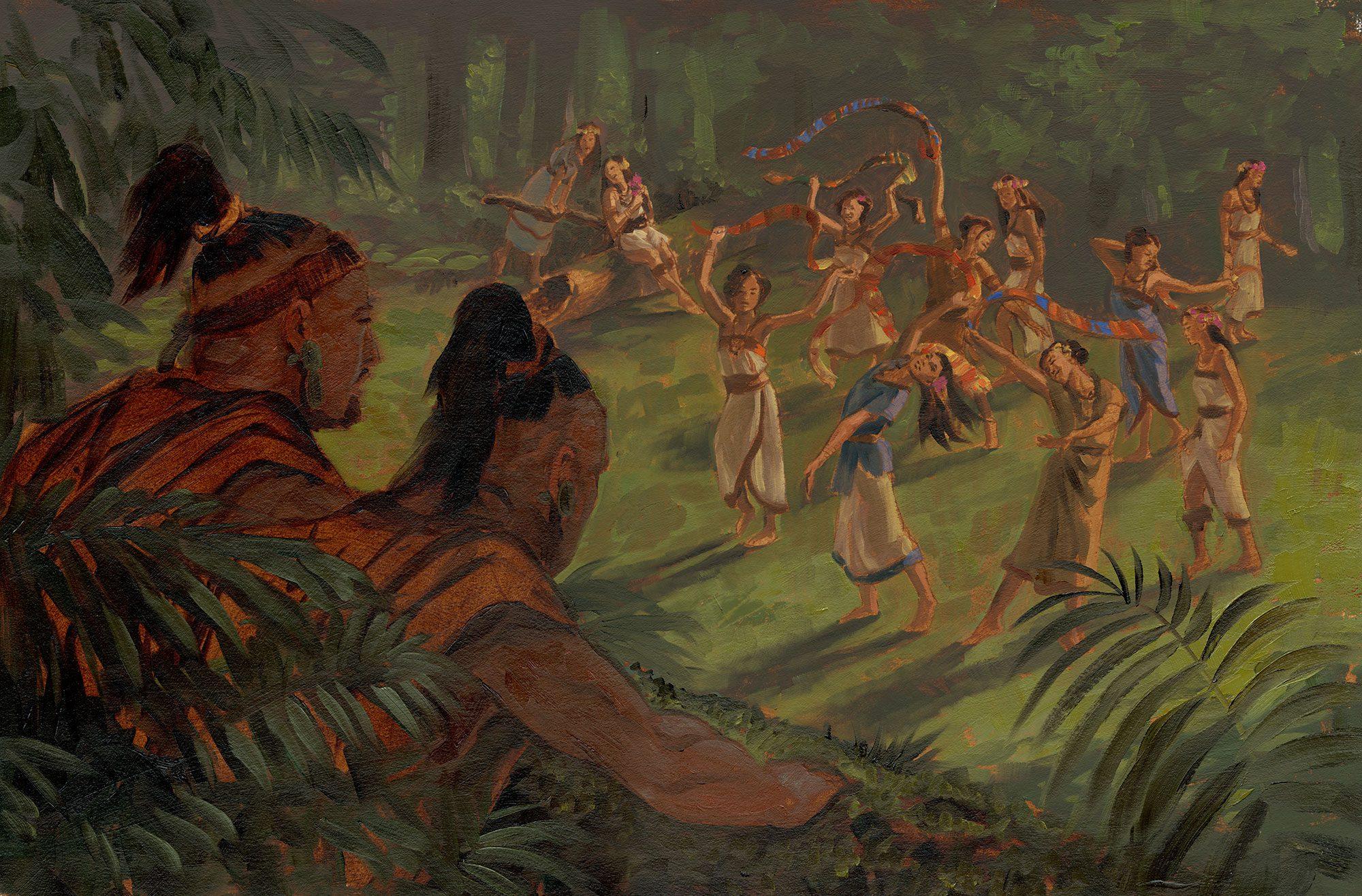 Amulon-Lamanite-Daughters