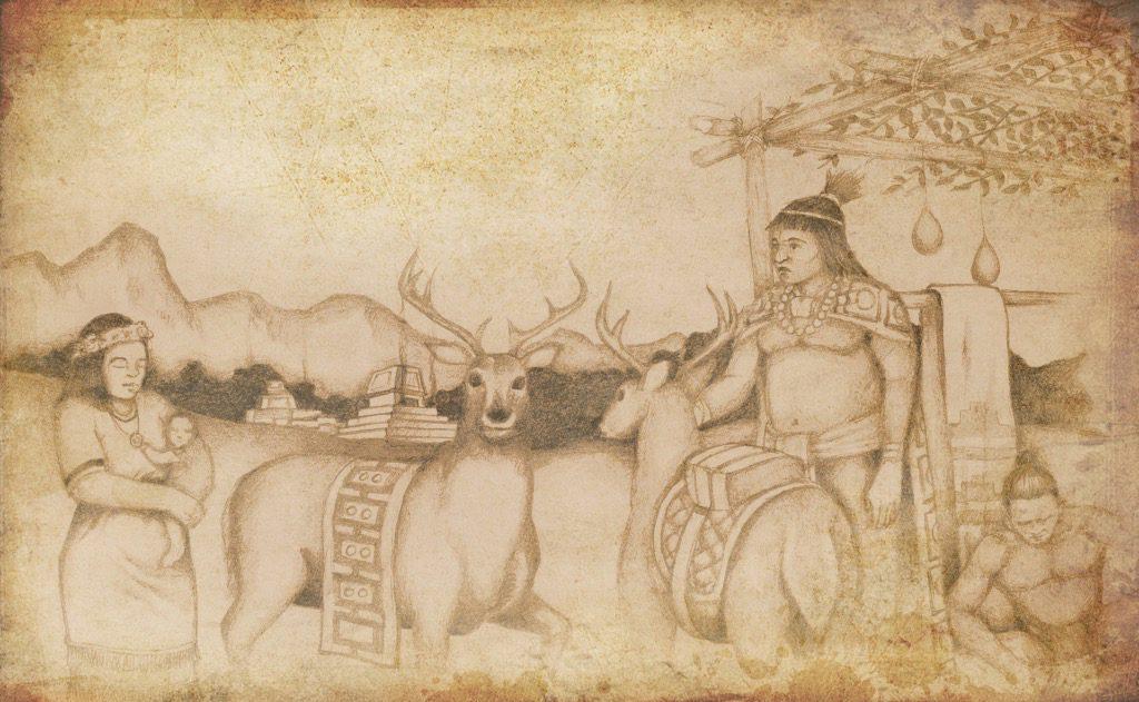 deer-vase