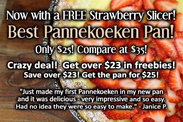 Strawberry pannekoeken Graphic