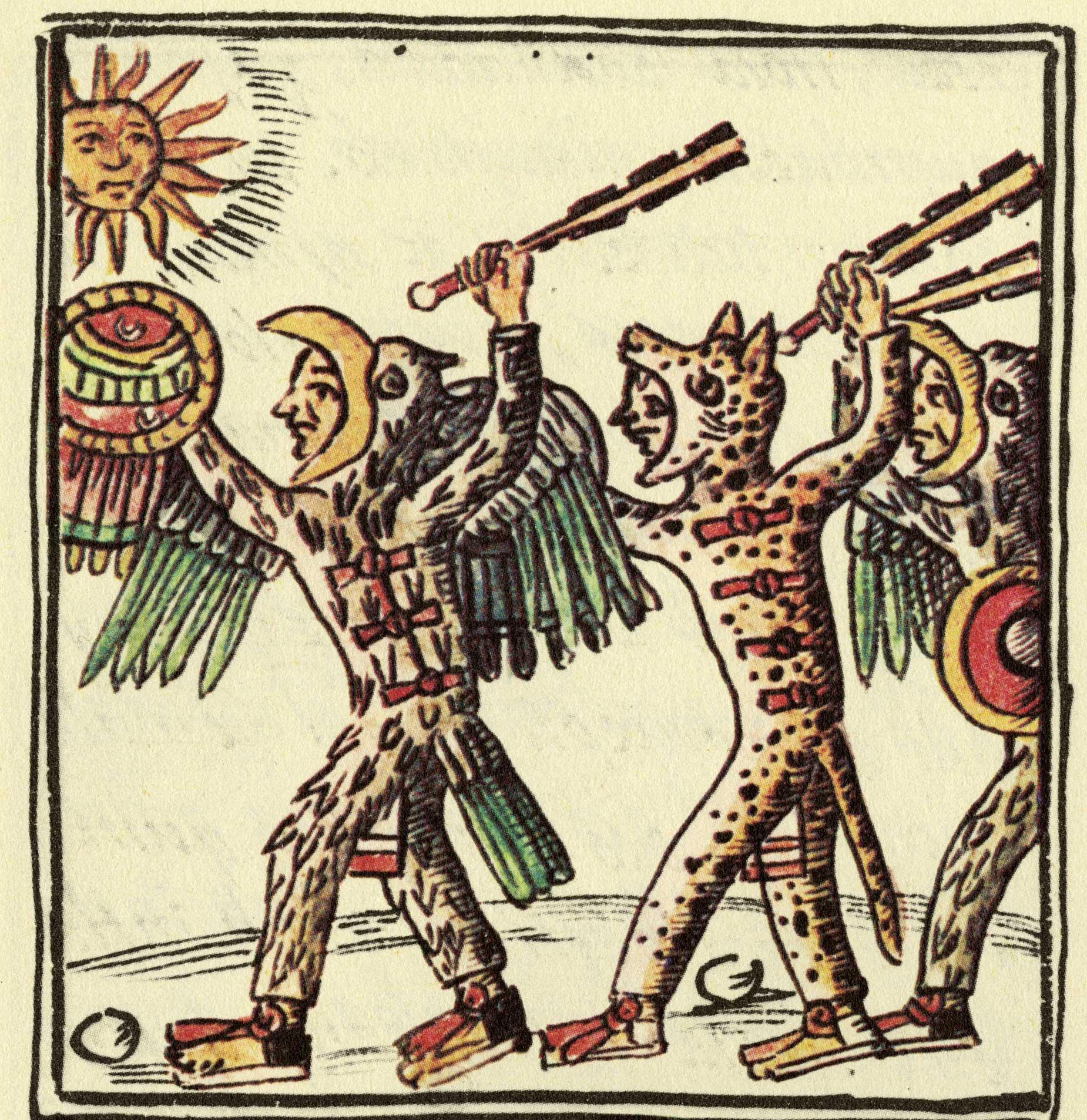 aztec-warriors